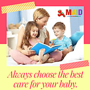 Baby Sitting Services in Dubai | Part time maids in Abu Dhabi