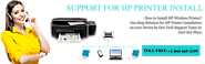 HP Printer Installation Support Number +1-844-669-3399