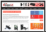 Best E Cigarette UK | edocr