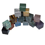 Mix Gemstone Cubes