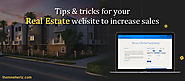 You must make your real estate site mobile compatible: