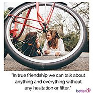 How can therapy help in friendship