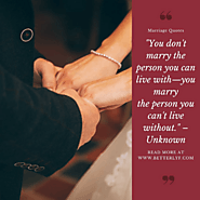 Marriage Quotes | Quotes About Marriage | Happy Marriage Quotes