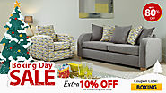 Sofas Sale 💥 Extra 10% Off on this Big Boxing Day🌟Enjoy Free Delivery*