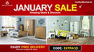 Save Big!! January Furniture Sale Up to 75% Off on Bentley Designs Furniture