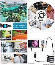 Top 10 Best USB Waterproof Endoscope and Borescope Inspection Camera Reviews 2018-2019
