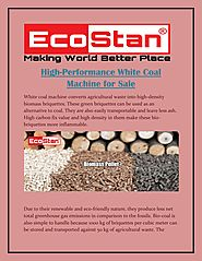High Performance White Coal Machine For Sale | Ecostan by Eco Stan - Issuu