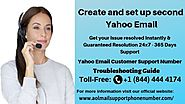 Create and set up second Yahoo Email