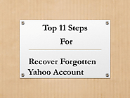 Steps to Recover Hacked