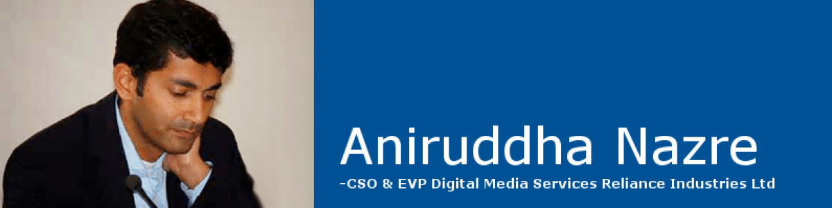 Headline for Aniruddha nazre Entrepreneur and Investor.