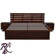 Website at https://www.rajhandicraft.com/stripe-bed-3354.html