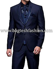 Buy Wedding Notched Lapel Tuxedo Suit Online