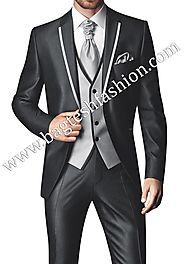 Buy Stylish Slim Fit Party Wear Suit Online