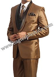 Buy Shiny Tuxedos Wedding Suit Online