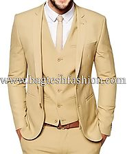 Buy Bridegroom Two Button Notch Party Suit Online