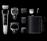 """PHILIPS QG3371 MULTIGROOM WATERPROOF GROOMING KIT BEARD, HEAD & DETAIL HAIR 220 VOLTS NOT FOR USA """