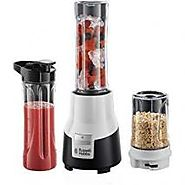 """RUSSELL HOBBS 22340-56 AURA MIX & GO PRO - 220V BLENDERS (PLASTIC) 220-240 VOLTS (NOT FOR USA) """