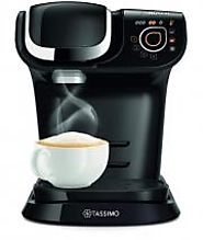 BOSCH TASSIMO MY WAY 220 VOLT COFFEE MAKER, 1500 WATTS, 1.2 LITRES - BLACK