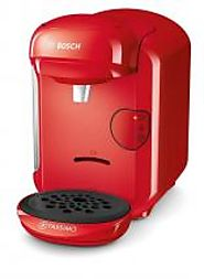 BOSCH TAS1403GB TASSIMO VIVY 220 VOLT COFFEE MAKER, 1300 WATT, 0.7 LITRE - RED 220 VOLTS NOT FOR USA