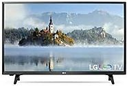 """LG 32LJ500B 32-INCH 720P LED MULTISYSTEM TV 110-220 NTSC-PAL """