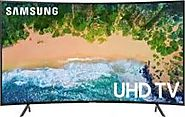 """ SAMSUNG 49NU7300 UHD 4K CURVED SMART MULTISYSTEM TV 110-220 VOLTS NTSC-PAL """
