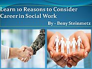 About Beny Steinmetz And His Career In Social Work