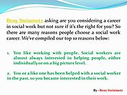 Quotes About Social Work With Beny Steinmetz