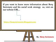 Social Work Biography and Report -Beny_Steinmetz