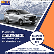 Planning for Winter Vacations? We can... - Luxury On Four Wheels | Facebook