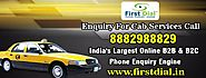 Enquiry For Cab Services Call