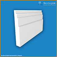 Stepped Skirting Board | Modern MDF Mouldings | Skirting UK