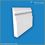 Georgian Skirting Board | Moisture Resistant MDF | Skirting UK