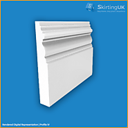 Profile IV Skirting Board | Moisture Resistant MDF | Skirting UK