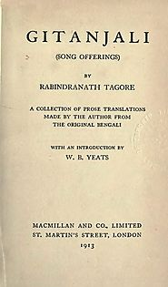 Gitanjali by Rabindranath Tagore – The Sounds Of Silence