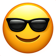 5. Smiling Face With Sunglasses