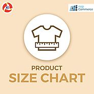 nopCommerce Product Size Chart Plugin