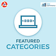 nopCommerce Featured Categories Plugin - NCode Technologies, Inc.