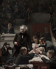"""The Gross Clinic,"" by Thomas Eakin. 1875."