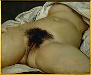 """Origin of the World,"" by Gustave Courbet. 1866."