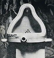 """Fountain,"" by Marcel Duchamp. 1917."