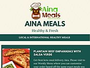 Honolulu Food Delivery - Aina Meals