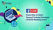 IELTS Reading: Crack General Training Passages with High Band Score!