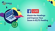 IELTS Reading | Answer Match the Headings Questions