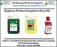 Find The Best Hygiene Product Suppliers Near Me UK