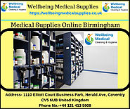 Best Medical Supplies Online Birmingham UK