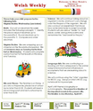 Classroom newsletter example