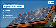 Which Factors Keep in Mind While Buying Solar Panel?