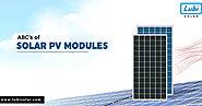 Introduction to Solar PV Modules