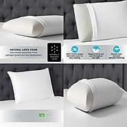 "Pain Remove Pillow on Instagram: ""Get the BEST FOAM PILLOW in the World Today - Beautyrest Latex Foam Pillow https://..."