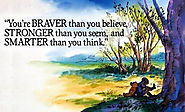 You're braver than you believe